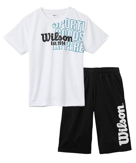 【wilson(ウィルソン)】Tスーツ(Tシャツ+ハーフパン...