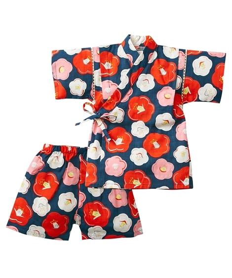 甚平スーツ(女の子 ベビー服 子供服) キッズパジャマ, Kids' Pajamas