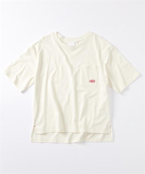【20春夏】綿100% キシリトール配合でひんやり爽快Tシャツ (Tシャツ・カットソー)(レディース)T-shirts, テレワーク, 在宅, リモート