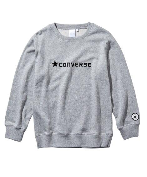 【CONVERSE(コンバース)】クルーネックスウェット(男の子 女の子 子供服 ジュニア服) (トレーナー・スウェット)Kids' Sweatshirts