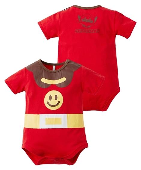 【アンパンマン】プリント半袖ロンパース(ベビー服・子供服 男の子・女の子) 【ベビー服】Babywear