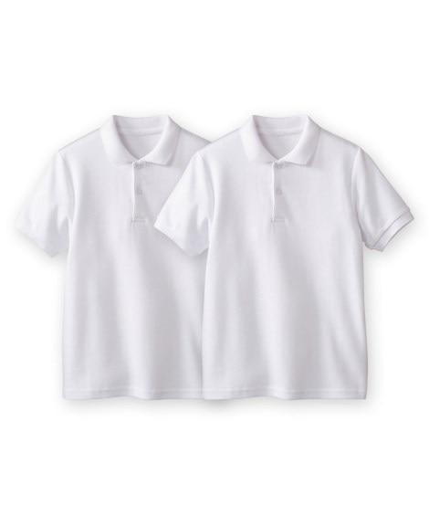 半袖ポロシャツ2枚組(ポケット無し) 制服