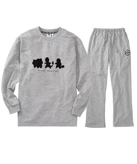 ポケットモンスター 長袖上下セット(トレーナー+パンツ) メンズパジャマ, Men's Pajamas
