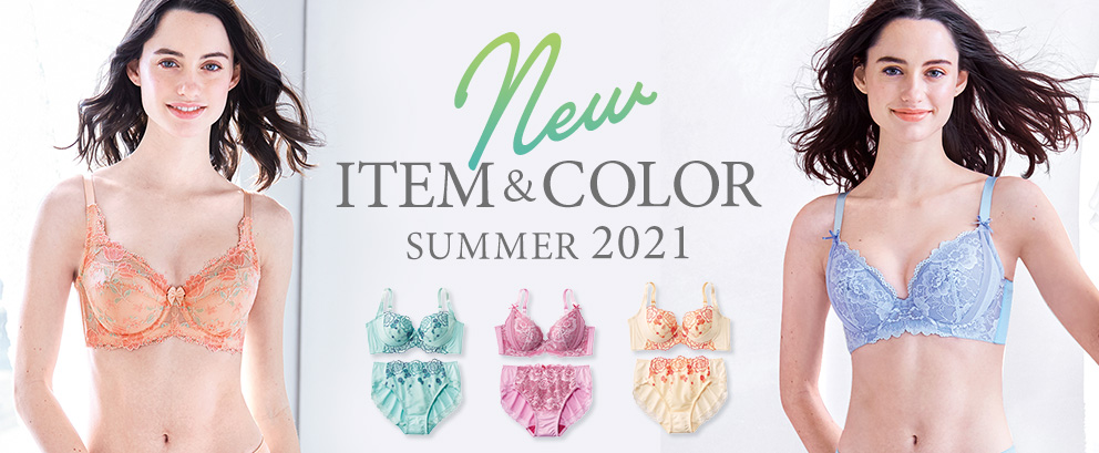 New ITEM&COLOR SUMMER2021