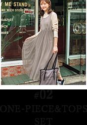 #02 ONE-PIECE&TOPS SET