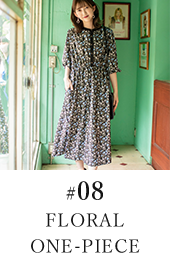 #08 FLORAL ONE-PIECE