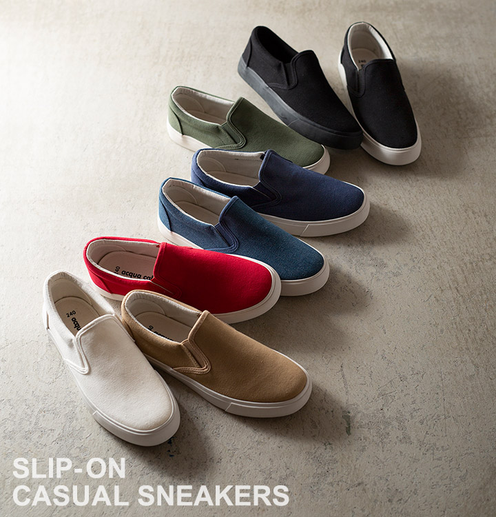 SLIP-ONCASUAL SNEAKERS